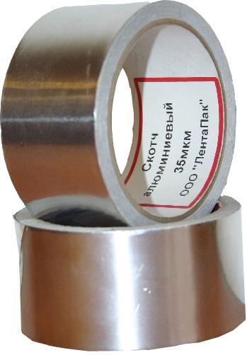 Алюминиевый скотч (AL) и армированный скотч (TPL) от ЛЕНТАПАК