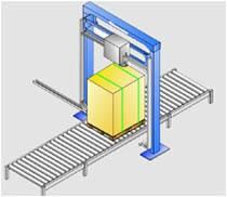 Автоматические машины для упаковки паллет