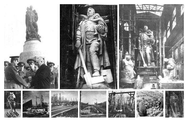 Воинский мемориал в Трептов-Парке (Берлин)